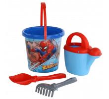 Детский набор для песочницы Marvel Человек-Паук №9. Арт. 65827 Полесье