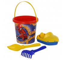 Набор для песочницы детский Marvel Человек-Паук №10. Арт. 65834 Полесье