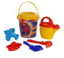 Набор детский для песочницы Marvel Человек-Паук №12. Арт. 65858 Полесье