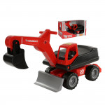 Детская игрушка мега-экскаватор колёсный MAMMOET 202-01,  (в коробке №2). Арт. 67593. Полесье