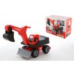 Мега-экскаватор колёсный детский MAMMOET 202-01, (в коробке). Арт. 66237. Полесье