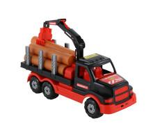 Детский автомобиль-лесовоз MAMMOET. Арт. 68521. Полесье