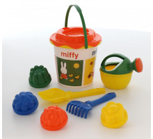 Комплект для песочницы с наклейкой Миффи-1 набор №3. Арт. 64653 Полесье