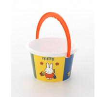 Детская игрушка ведро среднее с наклейкой Миффи-6. Арт. 64820 Полесье