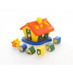 Детская игрушка логический домик Миффи с 6 кубиками №3. Арт. 64288 Полесье
