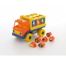 Игрушка развивающая логический грузовичок Миффи с 6 кубиками №2. Арт. 64400 Полесье