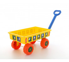 Детская игрушка игровой набор Полесье тележка для пляжа и сада Миффи. Арт. 64318 Полесье