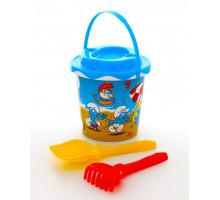 Набор для детской песочницы Смурфики-2 набор №1. Арт. 65155 Полесье