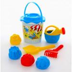Комплект для детской песочницы Смурфики-1 набор №3. Арт. 65131 Полесье