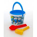 Детская игрушка набор для песочницы Смурфики: Затерянная деревня-6 набор №1. Арт. 65070 Полесье