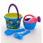 Набор детский для песочницы Смурфики: Затерянная деревня-4 набор №2. Арт. 65001 Полесье