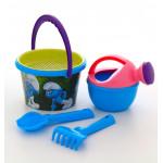 Игрушки для песочницы Смурфики: Затерянная деревня-5 набор №2. Арт. 65049 Полесье