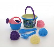 Детская игрушка Смурфики: Затерянная деревня-4 набор детский для песочницы №3. Арт. 65018 Полесье