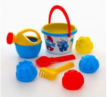 Набор для игры с песком Смурфики-4 набор №3. Арт. 65254 Полесье