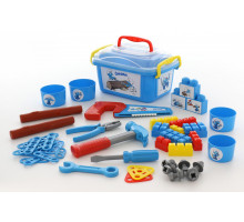 Детский набор инструментов Смурфик - мастер 402-01. Арт. 56955 Полесье
