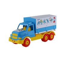 Детский автомобиль с тентом Смурфики. Арт. 64462 Полесье