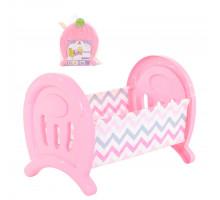 Кроватка сборная для кукол большая (в пакете) цвет розовый арт. 55996. Полесье