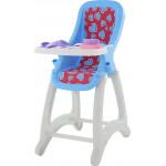 """Детский стульчик для кукол """"Беби №2"""" голубой арт. 48011. Полесье"""