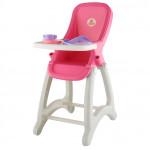 """Детский стульчик для кукол """"Беби"""" розовый  арт. 48004. Полесье"""