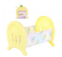 Кукольная кроватка большая (в пакете) цвет желтый арт. 55996. Полесье