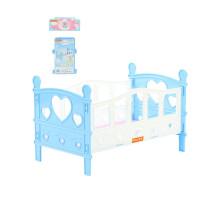 Кроватка сборная для кукол №2 (5 элементов) (в пакете) цвет голубой арт. 62048. Полесье