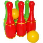 Детская игрушка Кегли, 6 штук арт. 6431. Полесье
