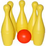 """Детская игрушка набор для боулинга """"Чемпион"""", 5 штук арт. 55781. Полесье"""