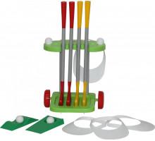 """Детская игрушка набор игровой """"Гольф-2"""" (14 элементов) арт. 56504. Полесье"""