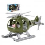 """Детский игрушечный Вертолёт военный """"Гром"""" (в коробке) арт. 67678. Полесье"""