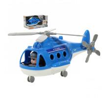 """Детский Вертолёт - полиция """"Альфа"""" (в коробке) арт. 68675. Полесье"""