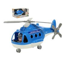 """Детская игрушка Вертолёт - милиция """"Альфа"""" (в коробке) (РБ) арт. 68682. Полесье"""