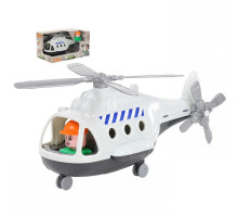 """Игрушка для детей Вертолёт грузовой """"Альфа"""" (в коробке) арт. 68828. Полесье"""
