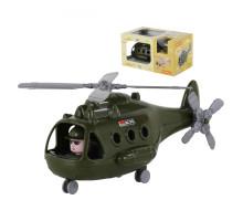 """Детский Вертолёт военный """"Альфа"""" (в коробке) арт. 68736. Полесье"""