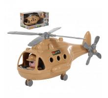 """Детская игрушка Вертолёт военный """"Альфа-Сафари"""" (в коробке) арт. 68781. Полесье"""