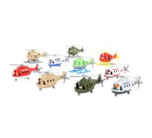 Детский игрушечный Вертолёт (в сеточке) (микс №1) арт. 72504. Полесье