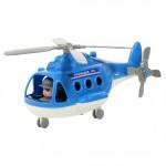 """Детский игрушечный Вертолёт - полиция """"Альфа"""" (в сеточке) арт. 72405. Полесье"""
