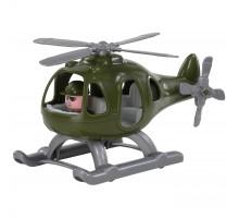 """Вертолёт игрушечный детский военный """"Гром"""" (в сеточке) арт. 72320. Полесье"""