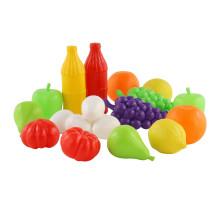Набор игрушечных продуктов №6 (19 элементов) (в сеточке) арт. 47014. Полесье