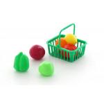 Детская игрушка набор продуктов №13 с корзинкой (7 элементов) (в пакете) арт. 66749. Полесье