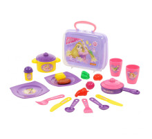 Набор игровой Полесье Disney Принцесса Рапунцель Готовим вместе (в чемоданчике). Арт. 71033