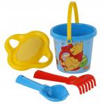 Игрушки для малышей Полесье Disney «Винни и его друзья» №2. Песочный набор. Арт. 66442 Полесье