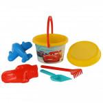 Игрушки для игры на пляже Disney/Pixar «Тачки» №11. Песочный набор. Арт. 66817 Полесье