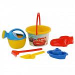 Детский набор Полесье для игры в песочнице Disney/Pixar «Тачки» №12. Арт. 66824