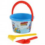 Детский набор Disney «Микки и Весёлые гонки» №5 для игры в песке. Арт. 66954 Полесье