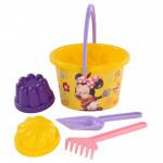 Набор Полесье для песочницы с формочками Disney «Минни» №7. Арт. 67012