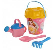 Игрушки для песочницы Полесье с ведерком Disney «Принцесса» №15. Арт. 67241