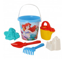Пляжный набор для песка Полесье Disney «Русалочка» №5. Арт. 67401
