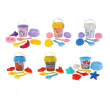 Песочные наборы Полесье для детей Disney с ведром большим с наклейкой (микс №9). Арт. 70937 Полесье