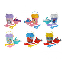 Песочные наборы Полесье для детей Disney с ведром большим с наклейкой (микс №10). Арт. 70944 Полесье