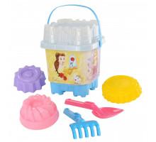 Игрушки для песочницы с ведерком в виде замка Полесье Disney «Принцесса» №17. Арт. 65445 Полесье